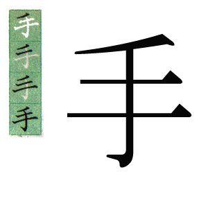 KANJI JAPONES: MANO. ハポネスカの1001漢字