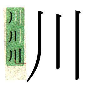 KANJI JAPONES: RIO. ハポネスカよりスペイン語で川というの漢字