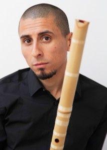 rodrigo rodriguez maestro de flauta japonesa shakuhachi