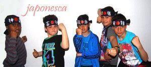 Hachimaki o cinta japonesa para niños