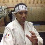 Hachimaki personalizado, este con el emblema de la Shizen Ryu Aiki Jujutsu school.