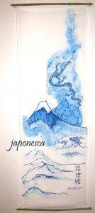Un humilde homenaje a la grandeza de este gtrabado de Hokusai.