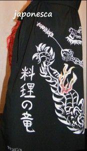 El dragóin cocinero, divertido y de estlo muy japonés.