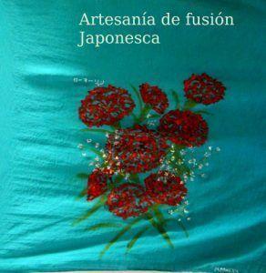 Pañuelo japojnés furoshiki como bolsa de reciclaje