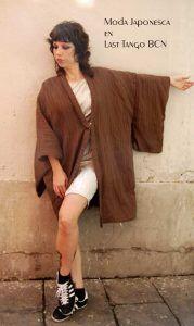 haori o chaqieta de kimono modelo saisho