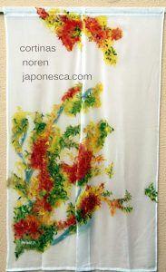 cortina noren momiji