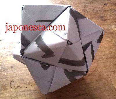 figura de origami, papiroflexia japonesa