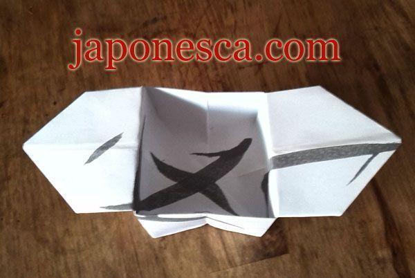 cajita d eorigami papiroflexia japonesa