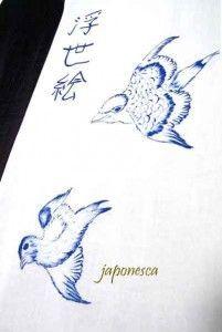 Los motivos de la naturaleza son uno de los grandes temas de la pintura Ukiyo e.