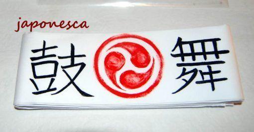 bandana para taiko, tipica japonesa