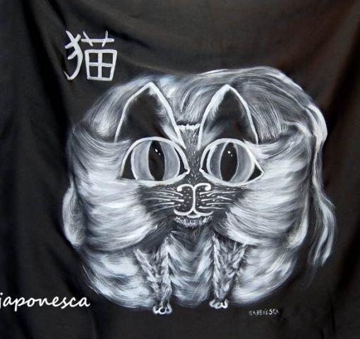 pañuelo ecobag furoshiki pintada a mano