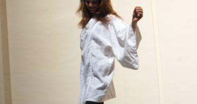 kimono blanco de japonesca