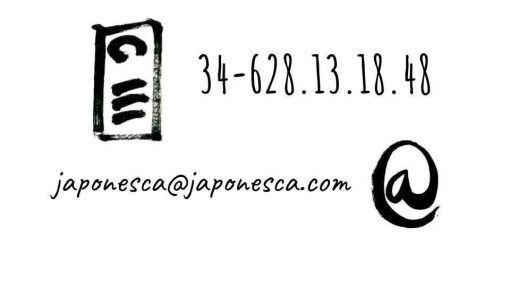 Para más información, contacte con Japonesca