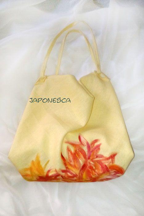 Furoshiki pintado a mano por Japonesca