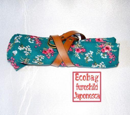 la ecobag furoshiki es fácil de guardar