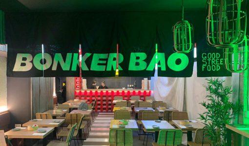 Cortinas noren restaurante bonker bao